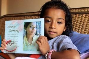 Maya's daughter
